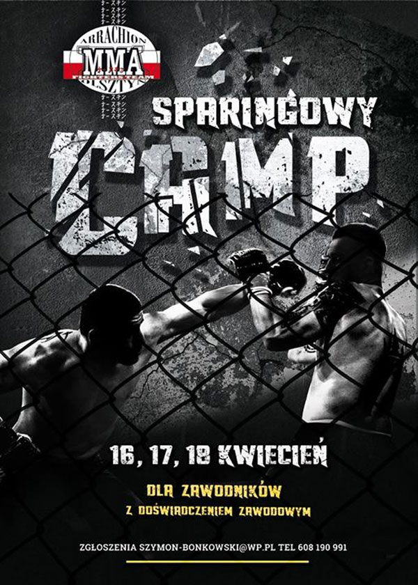 Arrachion Sparring Camp: 16, 17 i 18 kwietnia