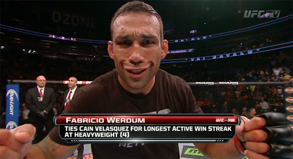Wyniki UFC on FOX 11: Werdum vs. Browne