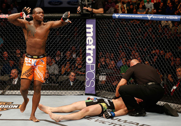 UFC on FOX 15: Ovince Saint Preux zawalczy z Patrickiem Cumminsem w Newark