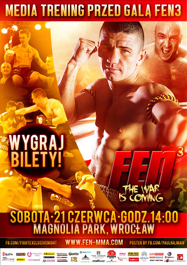 Otwarty media trening przed Fight Exclusive Night 3 – sobota, godzina 14:00