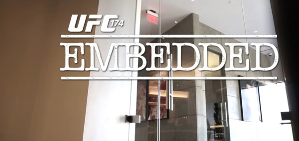 "UFC 174 ""Embedded""– Odcinek 1 (+video)"