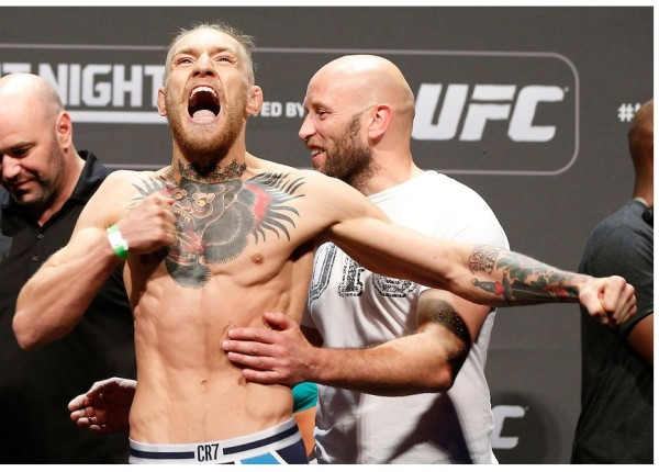 "UFC Fight Night 59: ""Conor McGregor is coming"" (+video)"