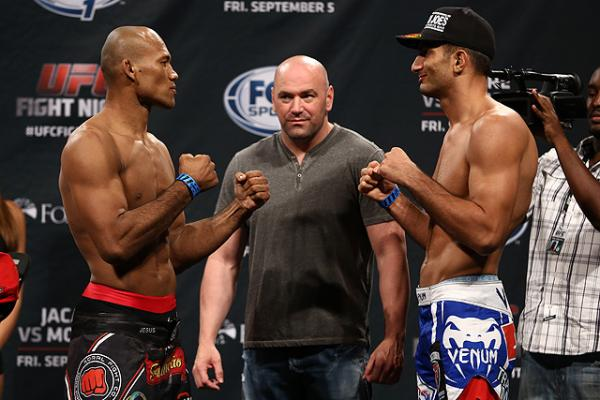 UFC FN: Jacare vs. Mousasi 2- wyniki ważenia (+video)