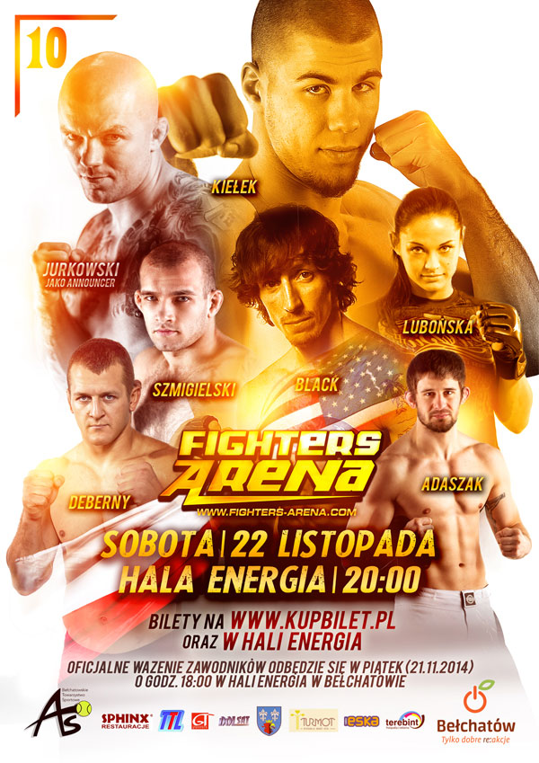 Oficjalny plakat Fighters Arena 10 (+trailer)