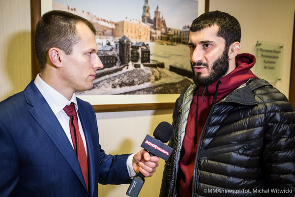 KSW 29: Mamed Khalidow po wygranej z Brettem Cooperem (+video)