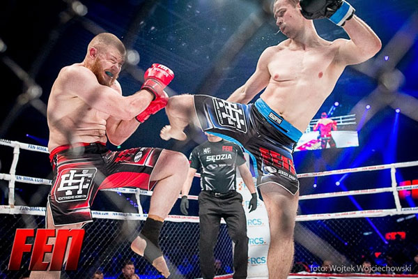 Piotr Rogosz kontra Tomasz Gut na Fight Exclusive Night 6