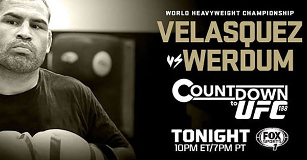 Countdown do UFC 188: Velasquez vs. Werdum (+video)