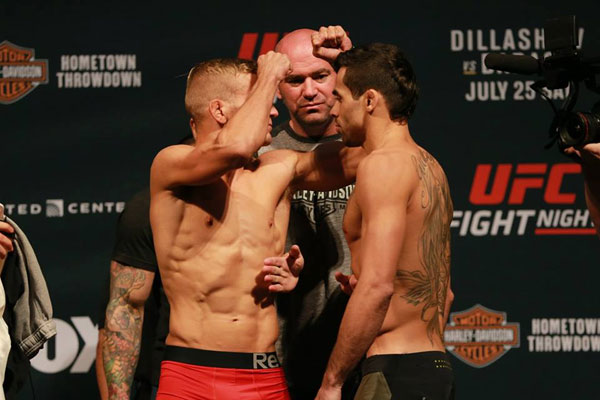Wyniki ważenia UFC FN Chicago: Dillashaw vs. Barao 2 (+video)