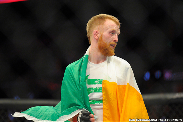 UFC FN 76: Paddy Holohan vs. Louis Smolka nowym co-main eventem na gali w Dublinie