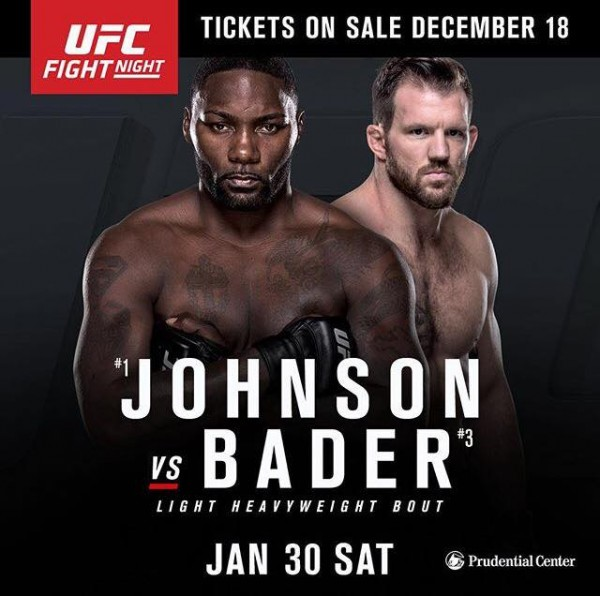 UFC on FOX 18: Anthony Johnson zmierzy się z Ryanem Baderem