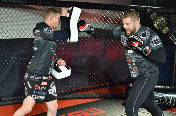 Media trening Karola Bedorfa przed KSW 33 (+video)