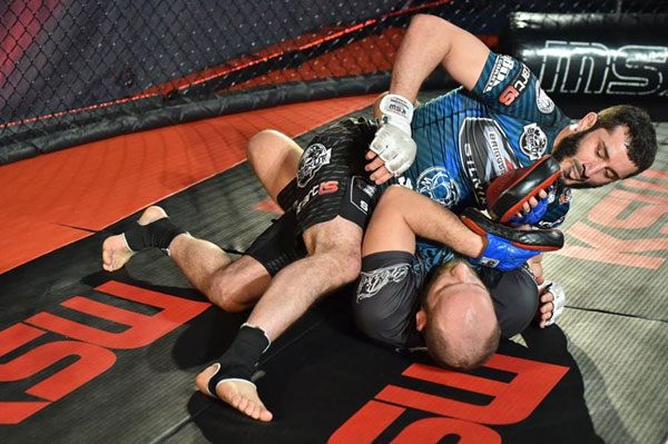 Media trening Mameda Khalidova przed KSW 33 (+video)