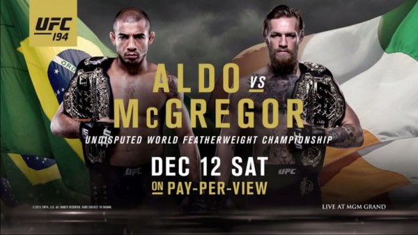 UFC 194 Embedded on FOX: Jose Aldo vs Conor McGregor  (+VIDEO)