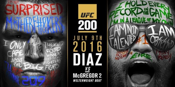 Diaz vs. McGregor_UFC 200