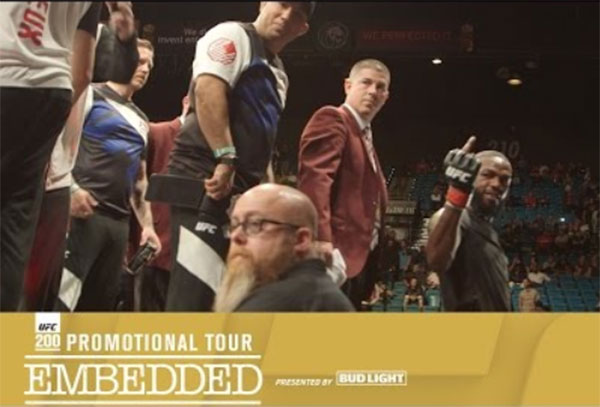 UFC 200 Embedded, odcinek 1 (+video)