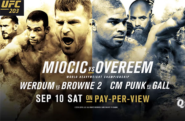 "Countdown do UFC 203: ""Miocic vs. Overeem"" (+video)"