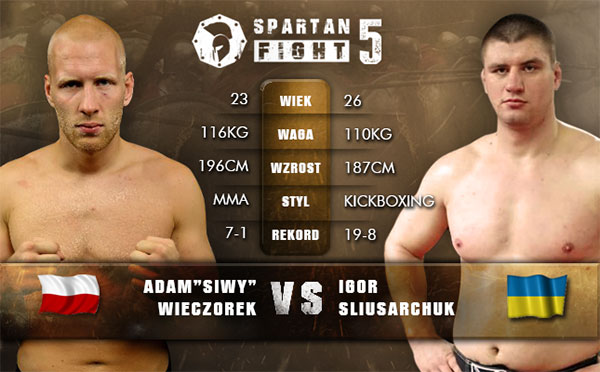 Adam Wieczorek vs. Igor Sliusarchuk na Spartan Fight 5