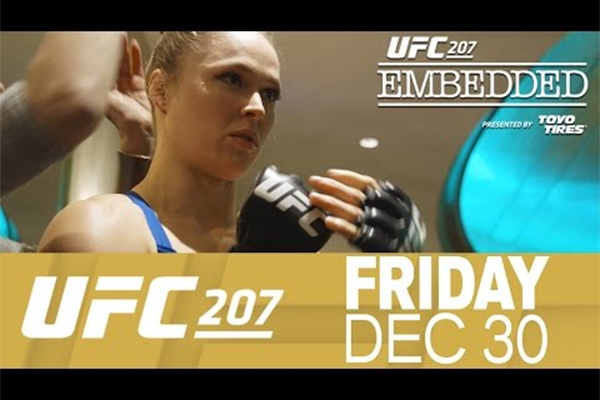 UFC 207 Embedded, cz. 2: Ronda is back (+video)