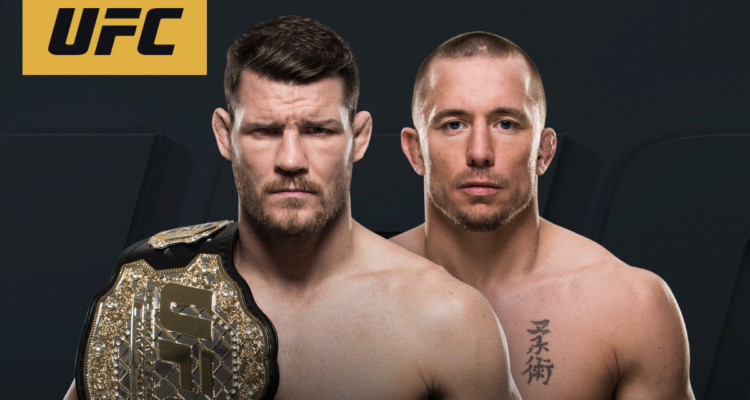 Georges St. Pierre vs Michael Bisping o pas wagi średniej [UPDATE]