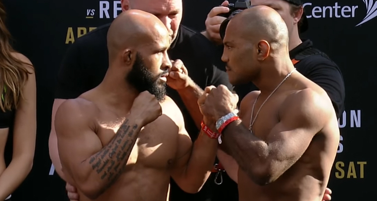 UFC on FOX 24: Demetrious Johnson i Wilson Reis zrobili wagę przed galą w Kansas (+video)