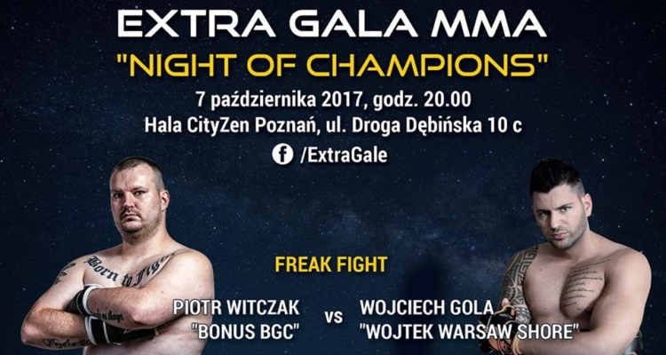 "Bonus BGC vs Wojciech ""Warsaw Shore"" Gola na Night of Champions w Poznaniu"