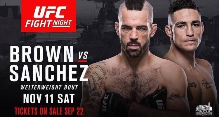 Matt Brown vs. Diego Sanchez na UFC Fight Night 120