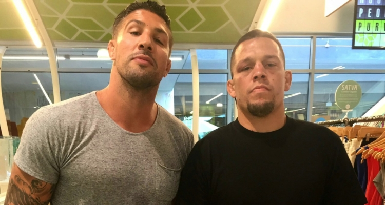 "Nate Diaz: ""Fuck the Schaubs"""