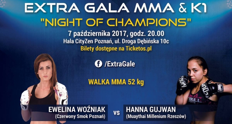 Hanna Gujwan vs Ewelina Woźniak na Night of Champions w Poznaniu