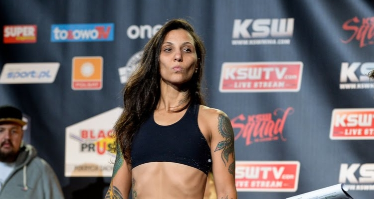 Kalindra Faria vs. Jessica Eye na UFC Fight Night w St. Louis