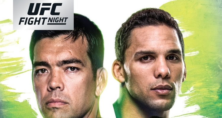 "Oficjalny plakat UFC FN 125: ""Machida vs Anders"""