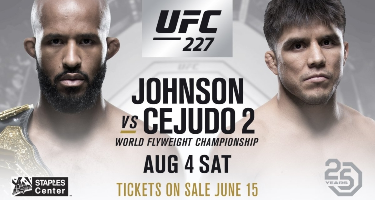 UFC 227: Demetrious Johnson w rewanżu z Henrym Cejudo w Los Angeles