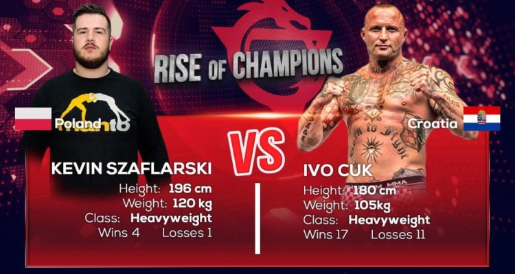 Kewin Szaflarski vs Ivo Cuk dodane do karty walk Krwawy Sport 2