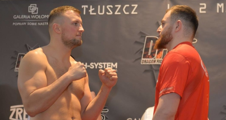 Wyniki i video z ważenia Dragon Fight Night 5: Orkowski i Edelbiev gotowi do boju