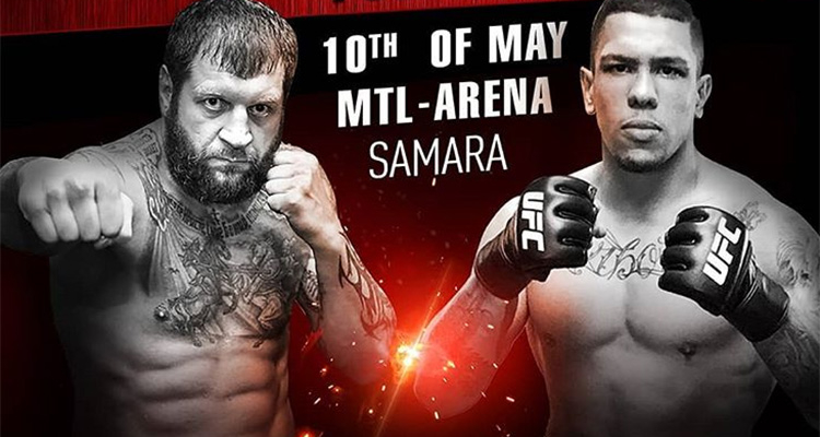 Alexander Emelianenko w starciu z Luisem Henrique na Battle on Volga 12